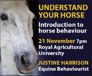 Justine Harrison Talk RAU (Herefordshire Horse)